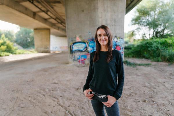 Businessportraits bei wiesloch mit Sprecherin Angelika osusko